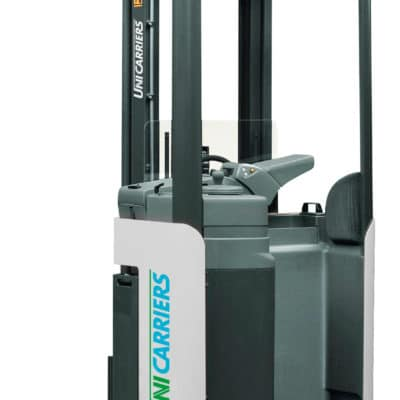 Stand-on stacker A